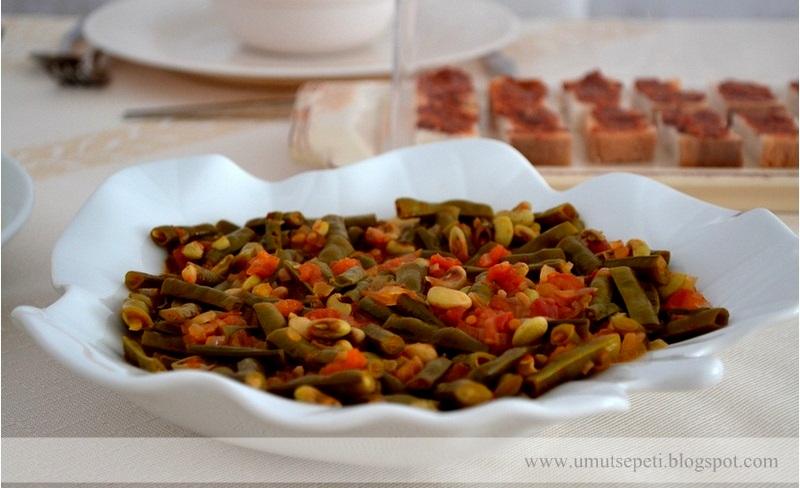 zeytinyağlı yemekler,resimli salata tarifleri,börülce salatası