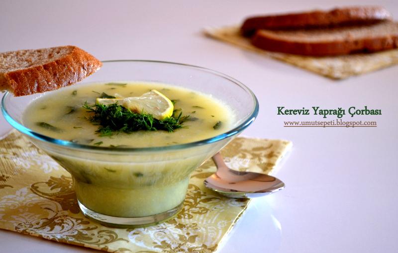 Kereviz Yaprağı Çorbası