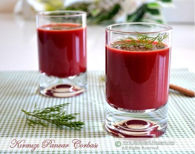 Kırmızı Pancar Çorbası :)
