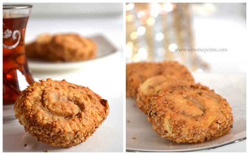 kurabiye tarifleri,resimli kurabiye tarifleri,oktay usta kurabiye,susamlı kurabiye