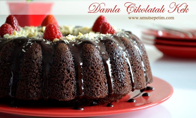 Bol Çikolatalı Nefis Kek