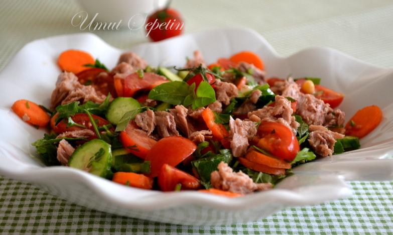 kolay salata,sofralar,facebook,umut sepetim, ramazan sofraları