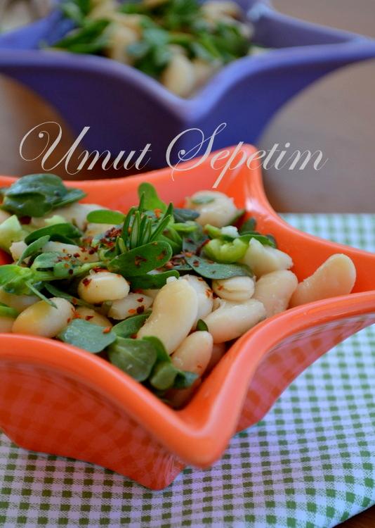 salata tarifleri,zeytinyağlı salata tarifleri