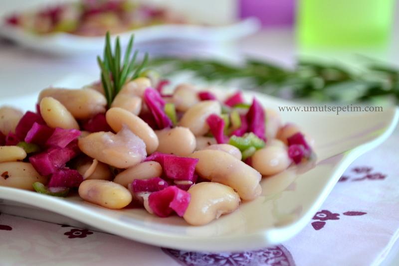 fasulye salatası tarifi,salata tarifleri,diyet salata