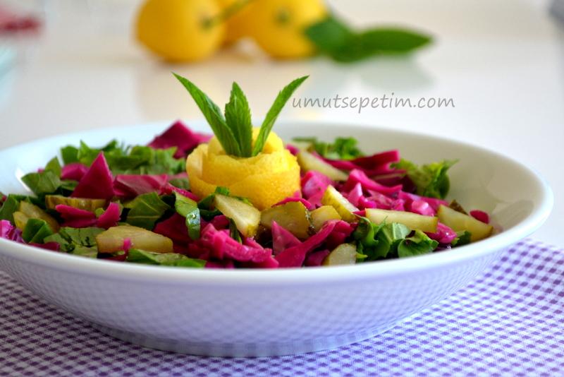 Turşulu  Roka Salatası Tarifi
