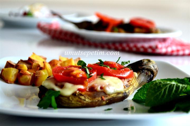 Biberli  Patlıcan Kebabı  Tarifi