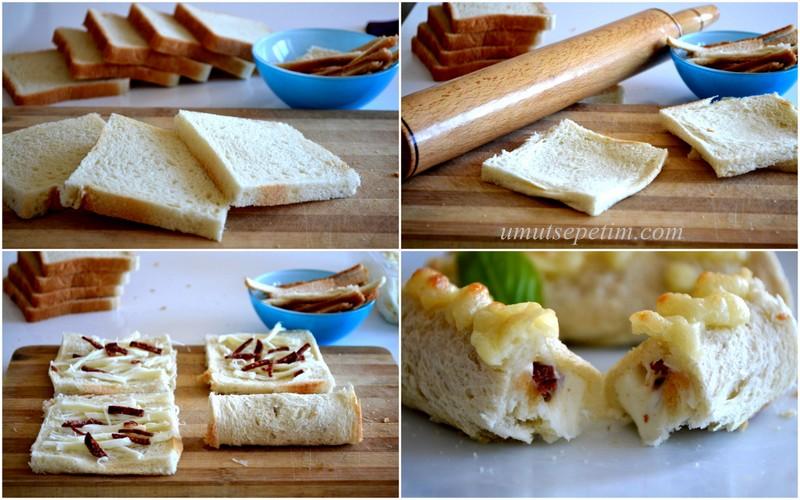 kolay börek tarifleri,pratik börekler,tost böreği tarifi