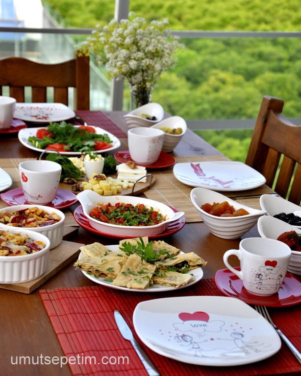Kahvaltı  Sofrası  ve  Pratik  Kahvaltılık  Tarifler