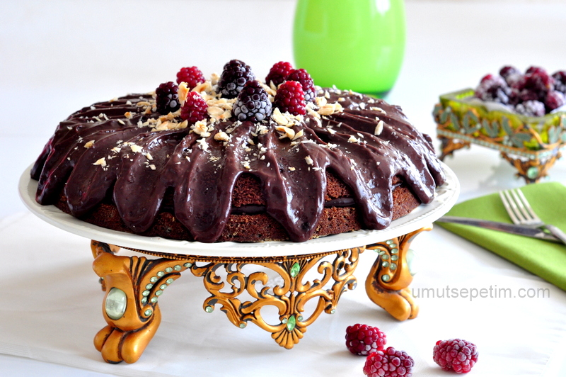 Tavada  Çikolatalı Pasta  Tarifi