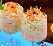 Yoğurtlu Beyaz  Lahana  Salatası ( Coleslaw )