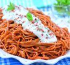 Domates  Soslu  Nefis  Spagetti